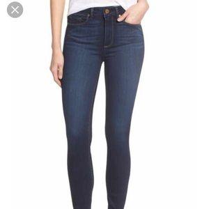 LOWEST PAIGE Denim Jeans Skyline Ankle Peg Sz. 25